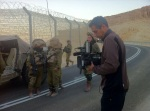 Filming with IDF troops